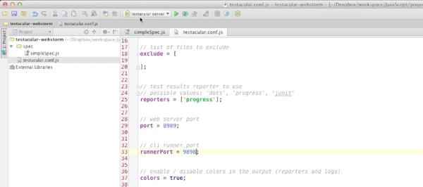 Testacular conf js