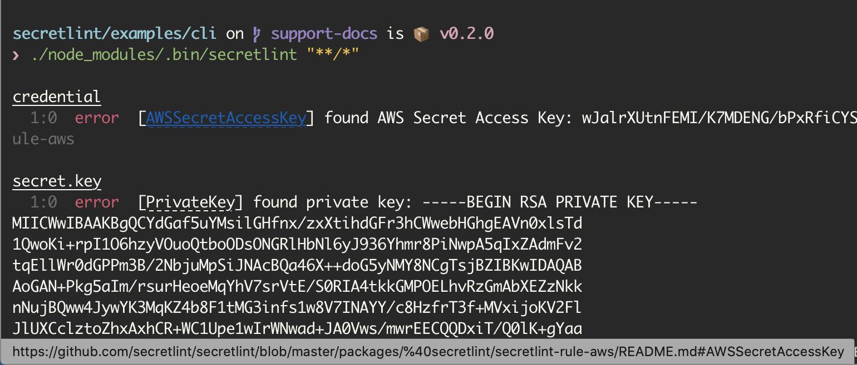 AWSSecretAccessKey